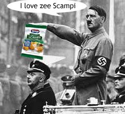 Scampi was a favourite of Hitler's