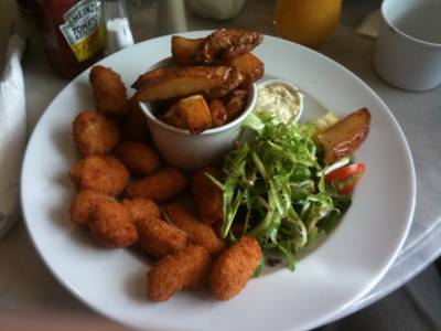 Daniel's Scampi and Chips